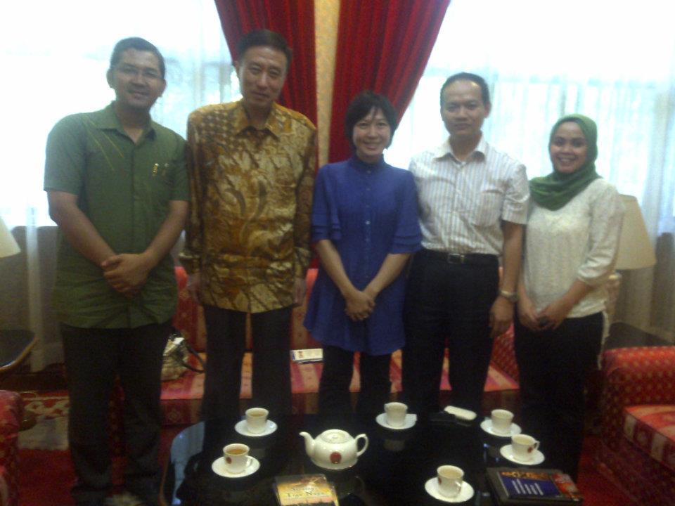 Pertemuan dengan Dr Shao Yiwu Atase Kebudayaan Kedubes Cina