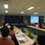 suasana seminar Business and Diplomatic Studies seri pertama