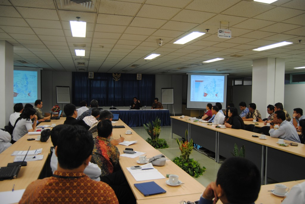 suasana seminar Business and Diplomatic Studies seri pertama