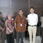 Pengajar HI Binus bersama dengan Dr. Kimura