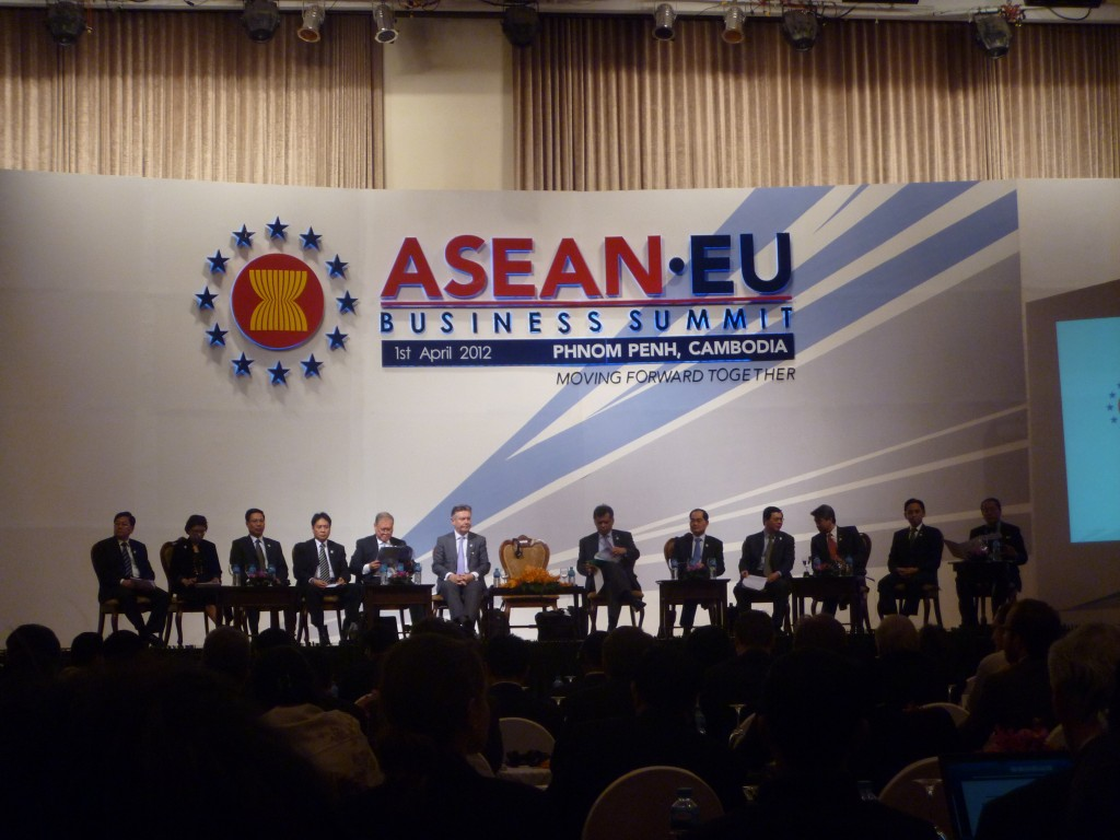 Representatives from Track I ASEAN EU
