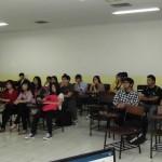 Suasana FEP salah satu grup mahasiswa HI