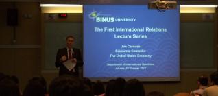Kuliah perdana IR lecture series