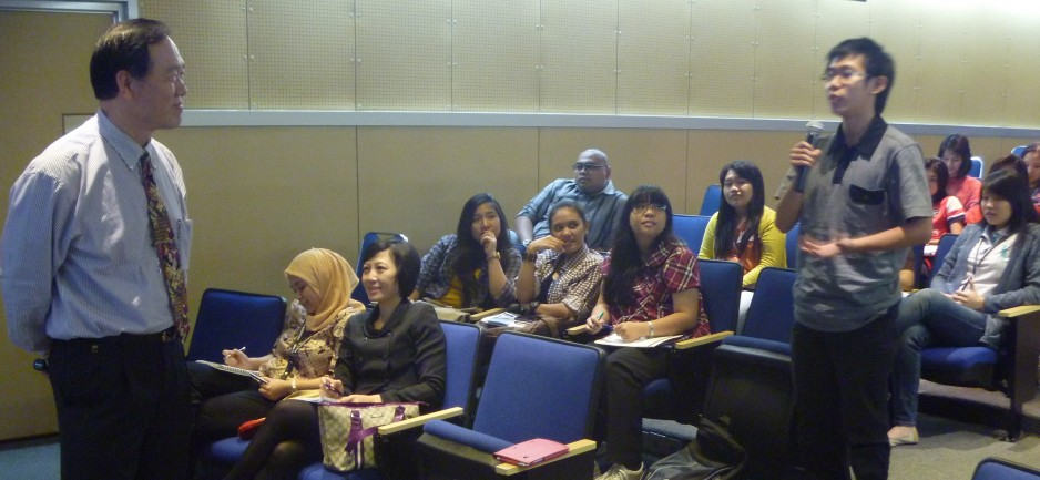 The First IR Lecturer Series
