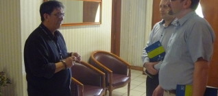 Dekan FHum Binus beramah tamah dengan Prof Kotlinski