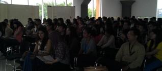 Pak Paulus Sekjur BL hadir bersama para mahasiswa BL
