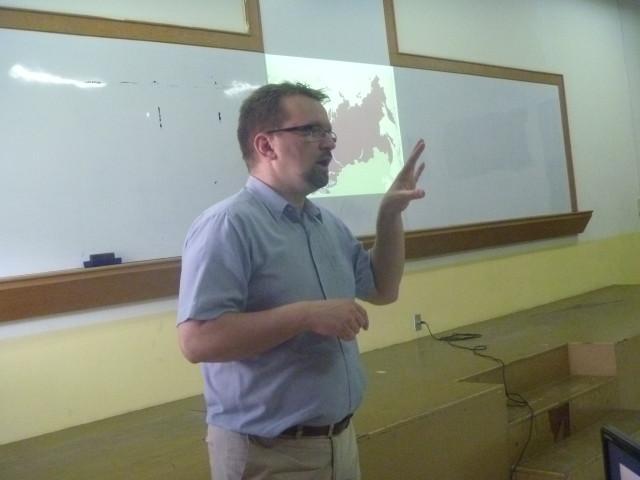 Prof Kotlinski dalam IR Lecture Series-4