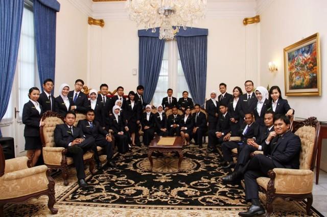 Calon Diplomat Muda Indonesia Sekdilu Angkatan 37