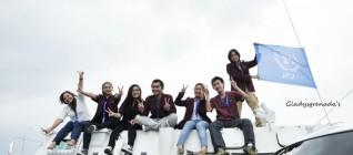 Foto Bersama di atas Panser UN