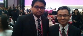 Dosen Binus, Wendy Prajuli, sebagai salah satu peserta Shangrila Dialogue