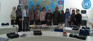 para peserta Workshop Tirta Mursitama dalam Workshop Kurikulum HI UBL