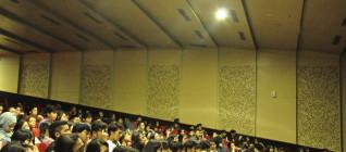 Suasana Seminar dimana mahasiswa menyimak dengan sekssama
