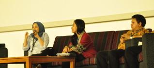 suasan seminar yang dinamis