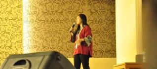 Ibu Anissa Elok Budiyani dari UNICEF Indonesia