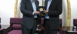 Prof. Shuen-Ren Cheng (Vice President CSU) dan Tirta N. Mursitama, PhD (HI BINUS)