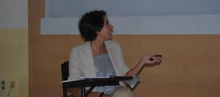 Valeria Virgilio, an Italian student presenting her paper