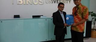 Prof. Gautam Kuma Jha, PhD dan Tirta Nugraha Mursitama, PhD