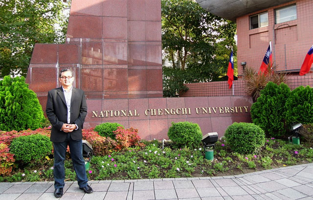 Visiting Scholar to National Cheng Chi University, Taiwan