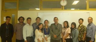 Rapat Dosen HI Binus Semester Genap 2013-2014 25 Jan 2014
