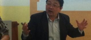 Dr. Cheng-Chwee Kuik gives his presentation