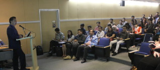 Suasana the 7th IR lecture Series