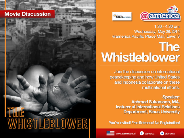 28 May - Movie Discussion The Whistleblower_eposter_1024_REV2