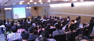 Kuliah umum diadakan di JWC Binus International