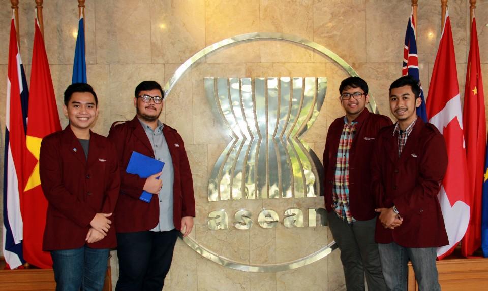 Kunjungan HI BINUS ke ASEAN Secretariat