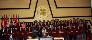 Foto Bersama Mahasiswa HI BINUS dan Perwakilan ASEAN Secretariat