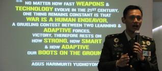 Mayor Agus Yudhoyono dalam the 9th IR Lecture Series