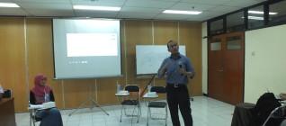 Mochammad Faisal Karim berbagi pengalaman dunia pasca kampu