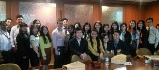 IR BINUS Students after the Discussion with Freeport Officials