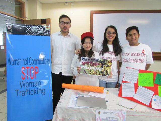 Kampanye Stop Woman Trafficking