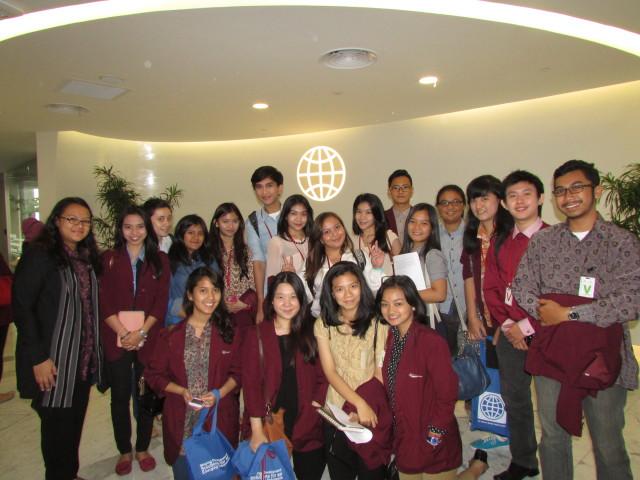 Mahasiswa HI Binus di World Bank
