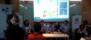 Suasana Diskusi dengan Volunteer HANDs Program