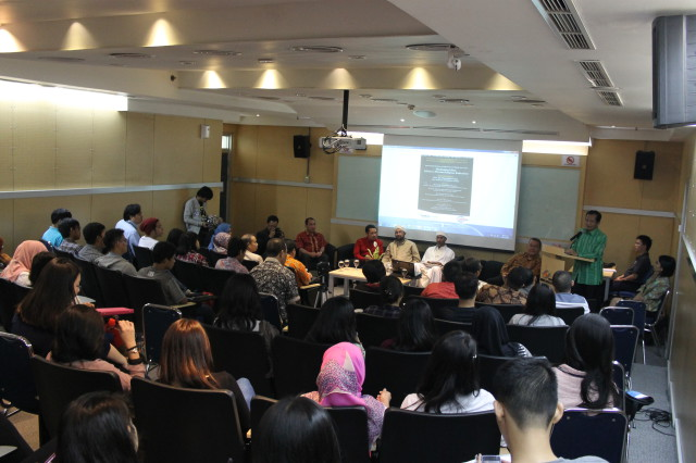 Suasana Seminar Internasional Moderating Islam: Efforts to Prevent Religious Radicalism