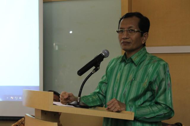 Wakil Menteri Agama, Prof. Nasaruddin Umar, memberikan keynote speech