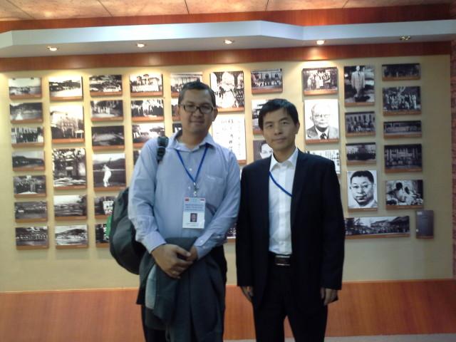 Dr Tirta dan Mr. Huang, Dean Confusius Institute Jakarta