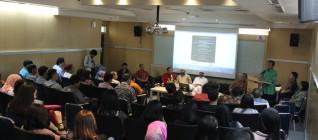Wakil Menteri Agama Prof. Nasaruddin Umar memberikan Keynote Speech dalam The 12th IR Lecture Series dalam Moderating Islam: Efforts to Prevent Religious Radicalism