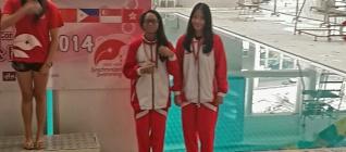 Mahasiswa HI Binus 2017 Andriani Shintya Ardhana berhasil menjadi Second Runner Up dalam Panasonic 10th Hongkong Synchronised Swimming Open Competition 2014
