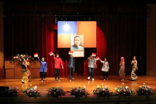 Penampilan kami Mahasiswa Indonesia pada Malam Seni Cheng Shiu