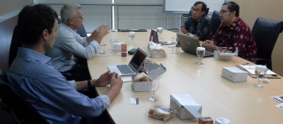 Constructive Discussion between Macquarie University and Binus University