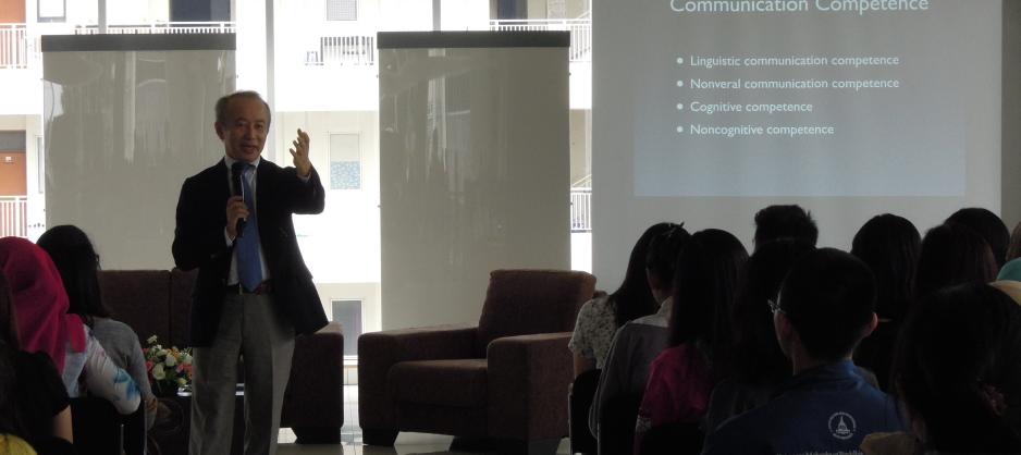 Prof. Kondo Explain the topics of Intercultural Communication