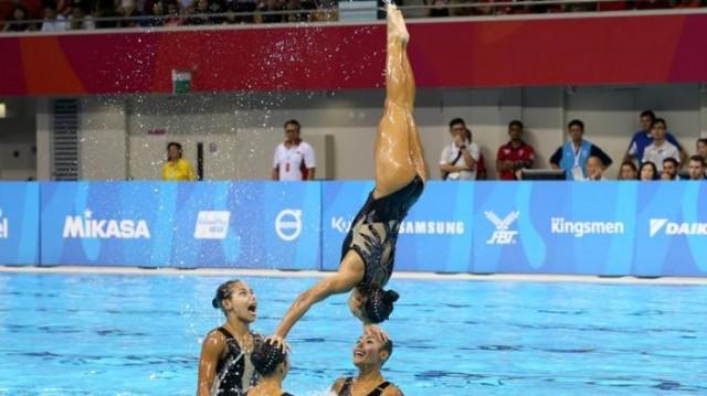 Tim Renang Indah Indonesia pada SEA GAMES XVIII