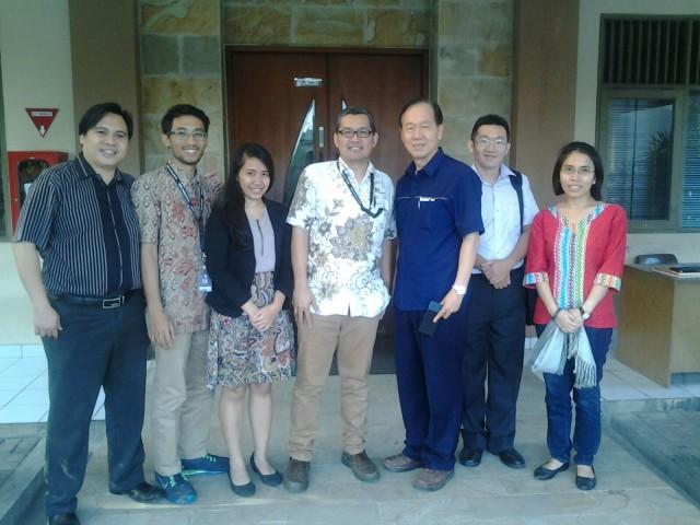 Foto Bersama Dosen HI Binus dengan Prof. Samuel Ku