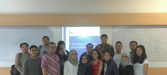 RSIS Academic Visiting Binus IR Department