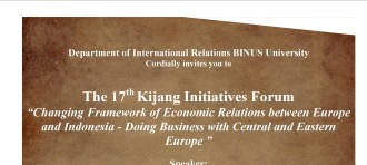 Invitation to 17th  Kijang Initiatives Forum