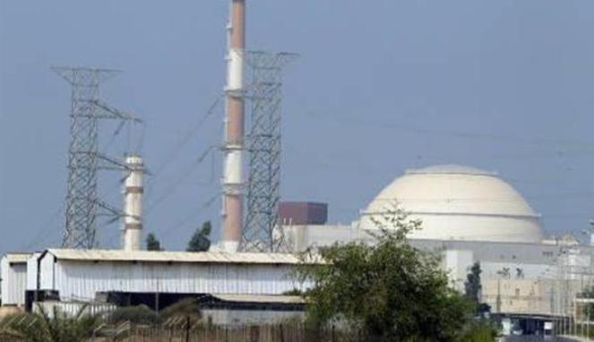 Instalasi nuklir Bushehr milik Iran (Reuters/Raheb Homavandi, diperoleh dari Viva.co.id)