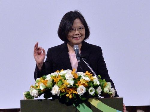 Taiwanese president-elect Tsai Ing-wen (蔡英文)