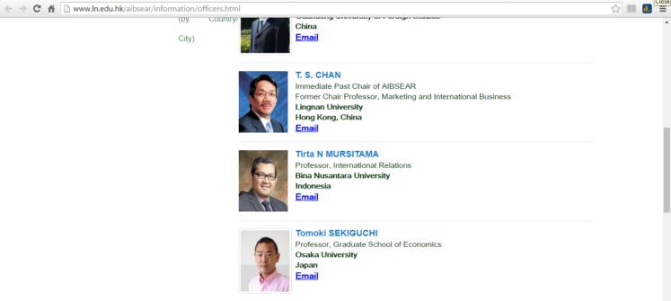 Ketua Jurusan HI Binus Menjadi Anggota Pengurus AIB Southeast Asia Chapter